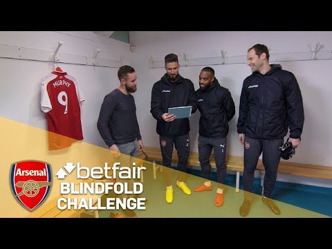 Arsenal Twitter Trials: Lacazette Blindfold Challenge