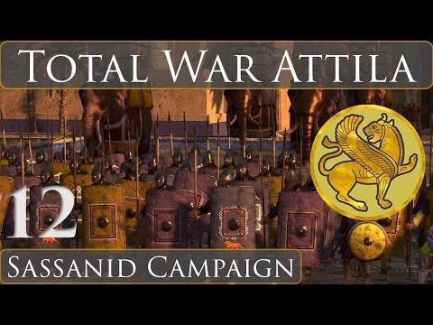 Total War Attila : Sassanid Campaign Part : 12