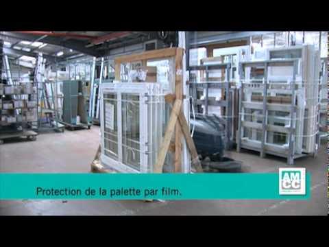Visite d 39 usine fen tres et portes amcc fen tre emballage for Porte et fenetre