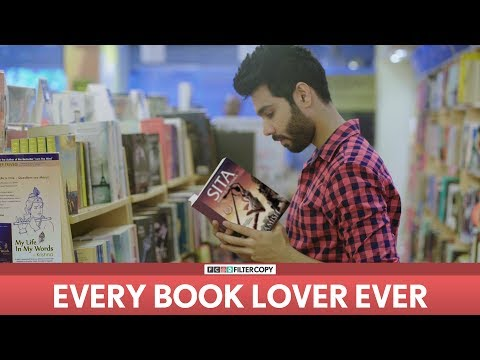 FilterCopy | Every Book Lover Ever | Ft. Amish