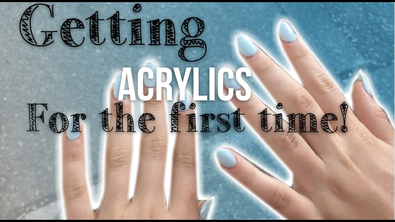13 Year Olds Get Acrylic Nails For The First Time