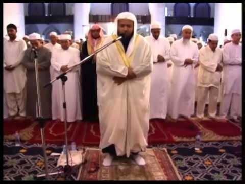 Masjid Shah Alam, Sheikh Saad Nomani performing Taraweeh in (Blue Mosque), Malaysia