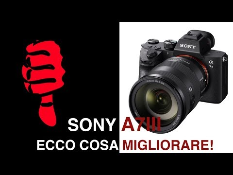 ECCO COSA ANDREBBE MIGLIORATO NELLA SONY A7 III