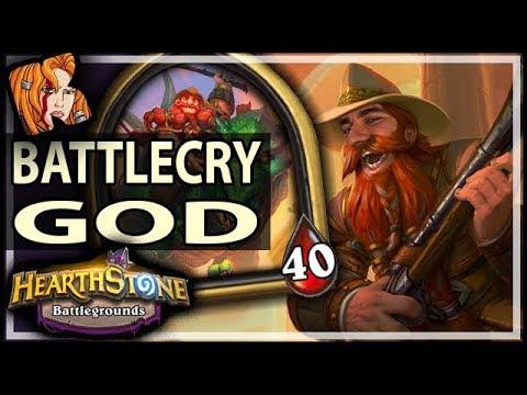 BRANN + BRANN = BATTLECRY GOD - Hearthstone Battlegrounds