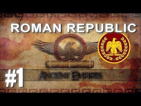 Ancient Empires: Total War - Roman Republic Campaign #1