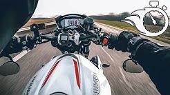 TRIUMPH STREET TRIPLE RS 2019   TOP SPEED   0-200 km/h   REPRISE