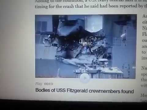 !CONFIRMED! CHINESE ATTACK FITZGERALD ! AT WAR WITH US! ~US NAVY IN TROUBLE{!}