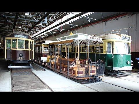 Melbourne Hawthorn Depot Tramway Museum 2017