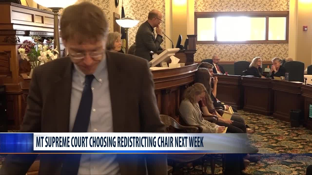 Montana Supreme Court to choose head of redistricting committee