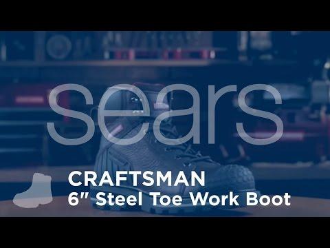 """Craftsman Men's 6"""" Steel Toe Work Boot"""