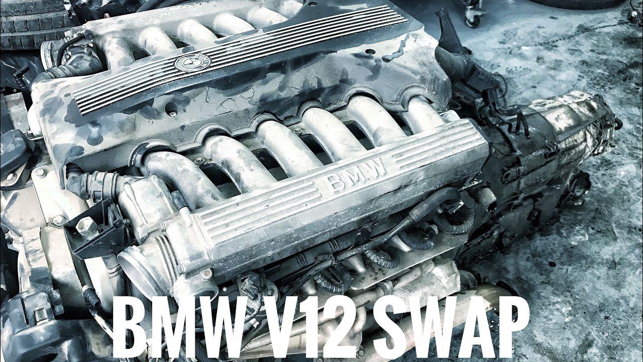 Bmw V12 Engine Swap Part 1 Youtube