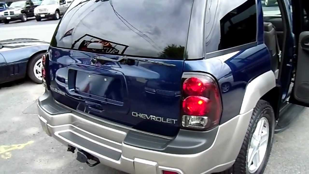 2003 Chevy Trailblazer Ltz Loaded For Sale Tamson Motors 718341 Cd Player 8888 Youtube