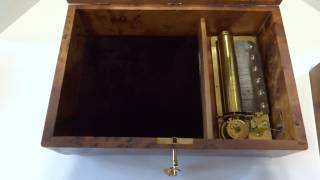 Reuge Musical Jewelry Box Playing Ave Maria