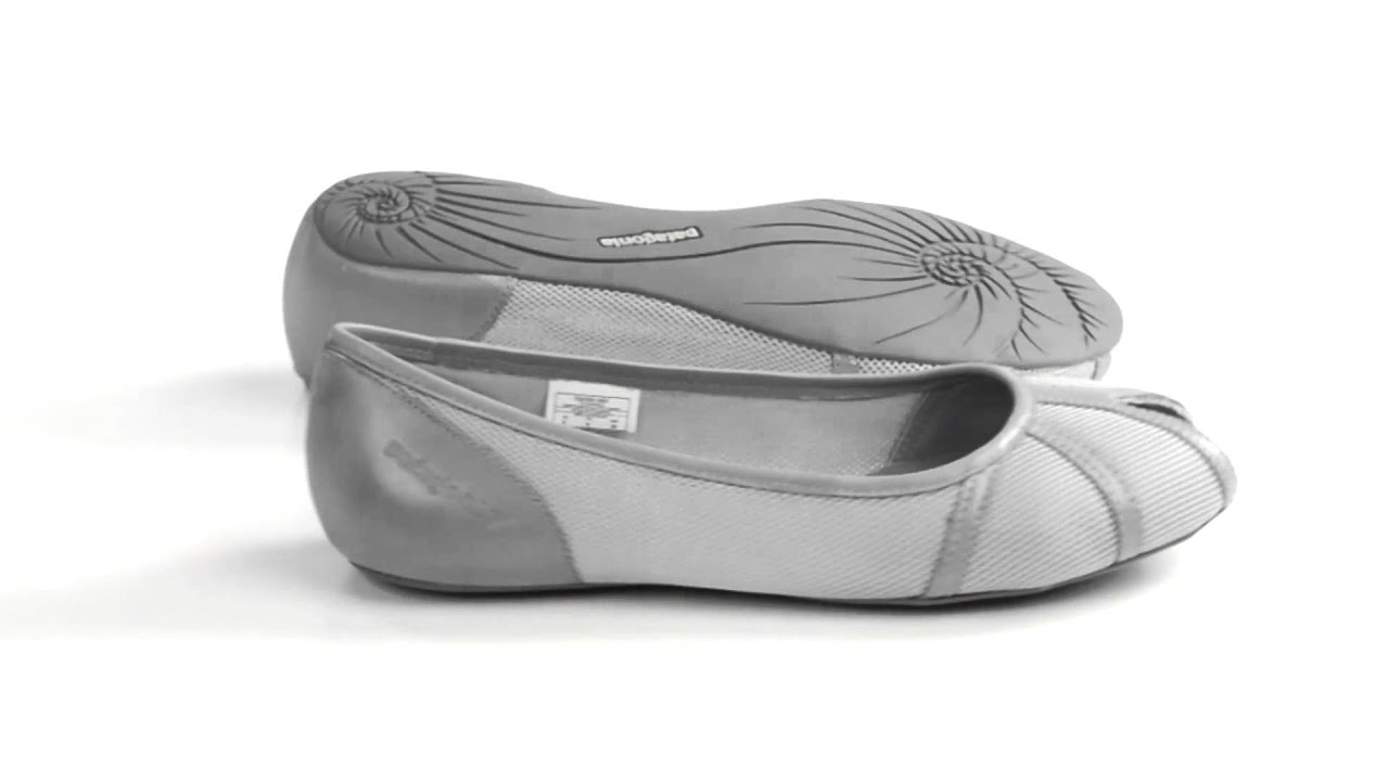 51b49077 Patagonia Maha Breathe Peep Toe Flats (For Women) - YouTube