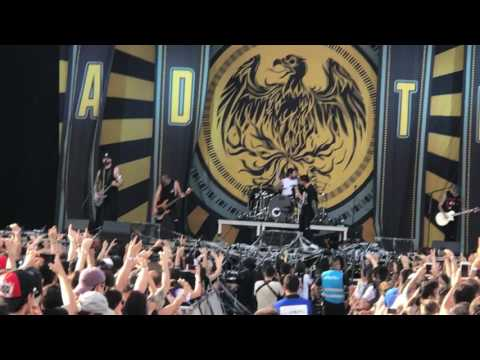 A Day to Remember - Intro + All I Want ( Download Festival Madrid 2017 )