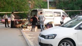 Азербайджанка громко орет