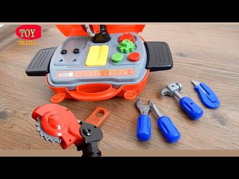 Игрушки - Чемодан с инструментами - Распаковка и Обзор Видео про Игрушки для детей
