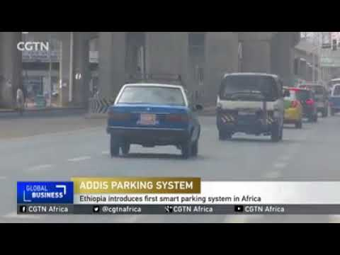Addis Ababa parking system.