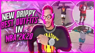 NEW BEST OUTFITS ON NBA 2K20! BEST DRIPPY OUTFITS TO WEAR IN THE PARK! DRIBBLE GOD BEST OUTFITS 2K20