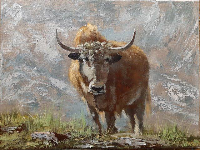 Бык-bull . Vugar Mamedov