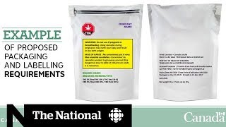 Canada's pot packaging: Health Canada lays out strict guidelines