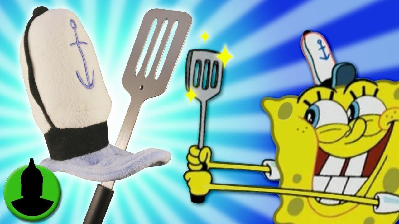 spongebob squarepants krusty krab hat spatula irl more cartoon