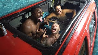 Download We Turned A Car Into A Swimming Pool (FLOODED HOUSE) Mp3 and Videos