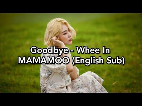 Goodbye - Whee In MAMAMOO (English Sub)