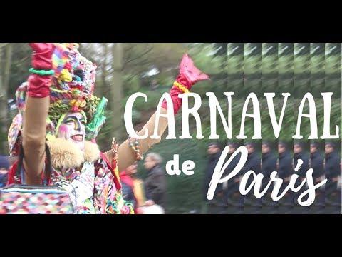 Carnival of Paris 2018 Parade