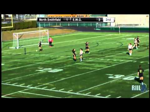 2012 RIIL Division 2 Girls Soccer Semifinal- Exter-West Greenwich vs North Smithfield
