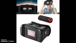 3D VR Box Headset Glasses Virtual Reality Cell Bluetooth