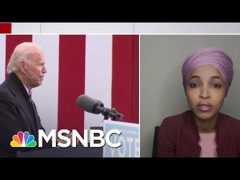 Rep. Ilhan Omar (D-MN) On Progressive Goals For The Biden Transition | Ayman Mohyeldin | MSNBC