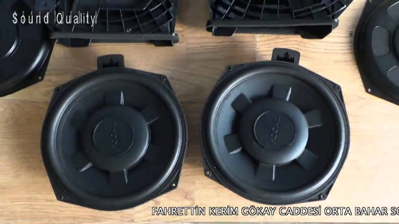 Bmw F30 Alpine Retrofit Kit Upgrade Focal Ifbmw Sub Woofer