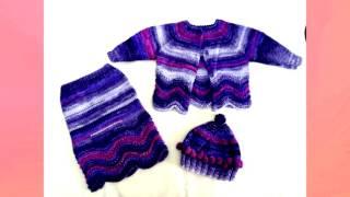 modele de hainute tricotate si crosetate pentru copii kids garments