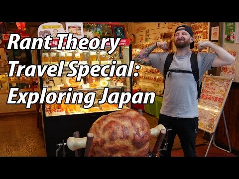 Rant Theory Travel Special: Exploring Japan (Kyoto, Nara, Osaka)