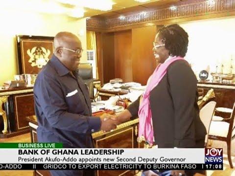 Bank of Ghana Leadership - Business Live on JoyNews (12-2-18)
