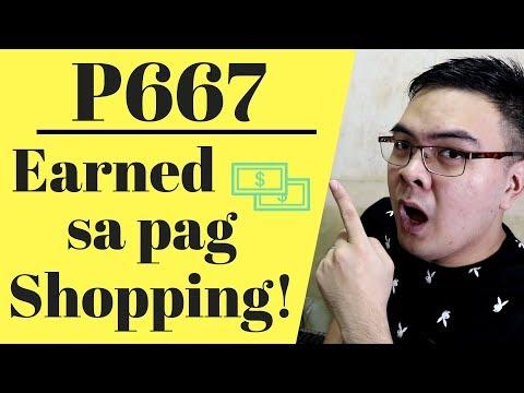 Paano Kumita 300 to 600 Pesos Sa pag Shopping Online (Cashback) 2019 Philippines