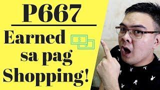 Paano Kumita 300 to 600 Pesos Sa pag Shopping Online (Cashback) 2018 Philippines