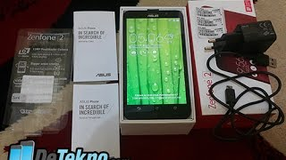 Unboxing Asus Zenfone 2 ZE551ML RAM 2 GB Indonesia