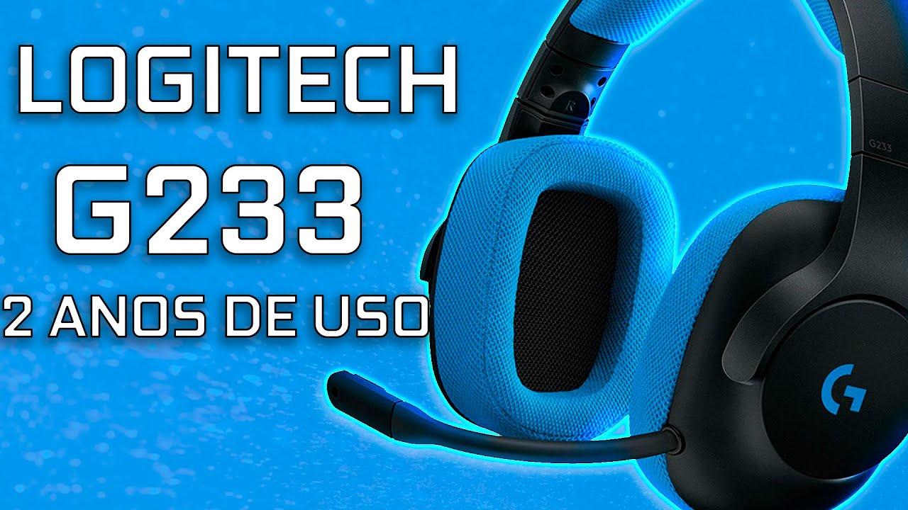 HEADSET LOGITECH G233 DEPOIS DE DOIS ANOS DE USO!!