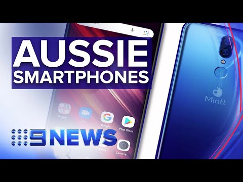 Aussie Tech Company Launches Budget Smartphones | Nine News Australia