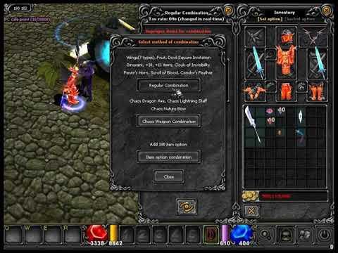 Mu Online Latin Warrior s6e3 creando wings evo3