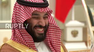 Russia: Putin meets Saudi Crown Prince Salman ahead of WC opening match