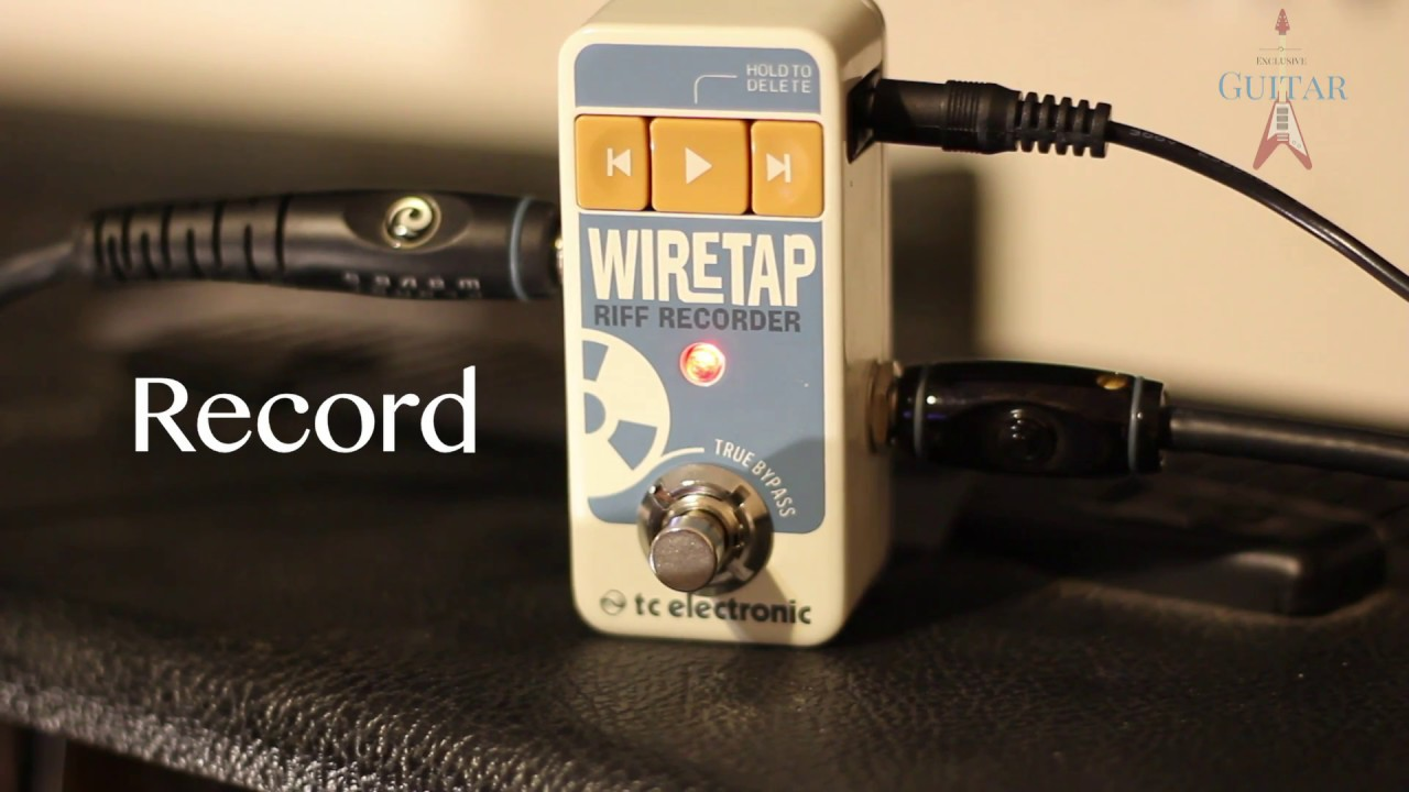 Wire Tap Riff Recorder Center Fk946 Non Contact Ac Voltage Detector Circuit Tc Electronics Wiretap Demonstration Youtube Rh Com Electronic Tape