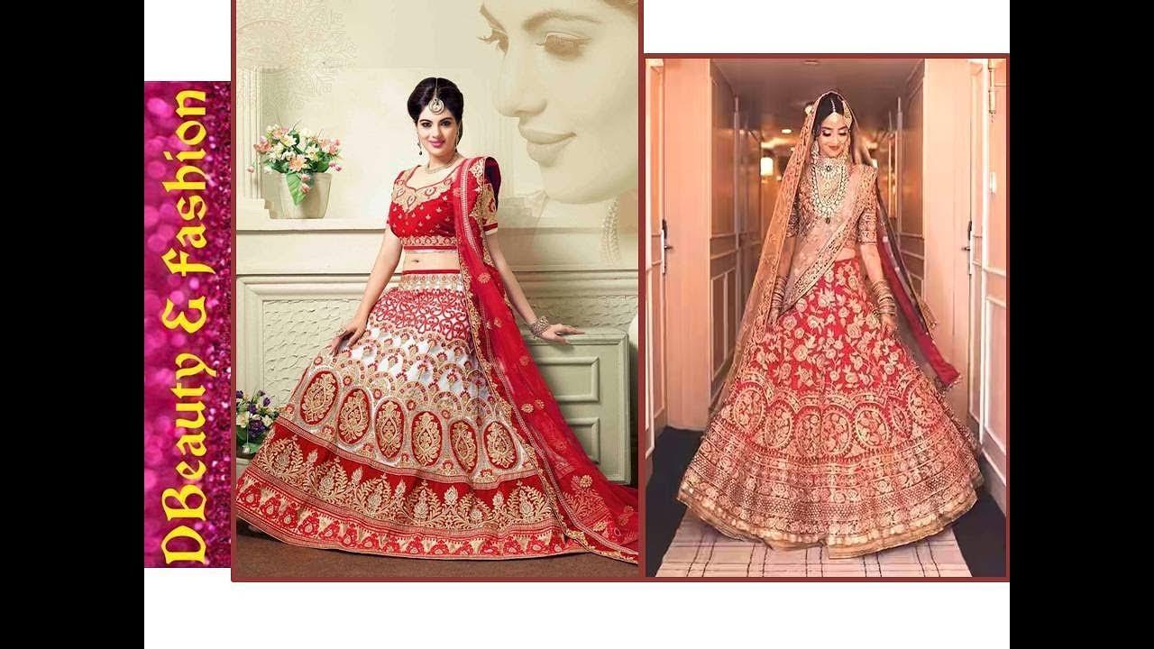 6f9cc76d21 Latest Punjabi Bridal Lehenga Designs Below Rs.10000/- Exclusive||Brides  Designer Lehenga Choli