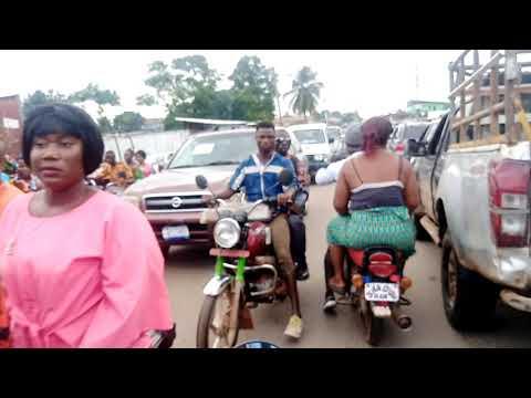 Liberia 2020 | Redlight Back Road Drive Through Video | Monrovia Liberia West Africa