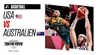 USA vs AUSTRALIEN   Basketball - Highlights   Olympische Spiele - Tokyo 2020