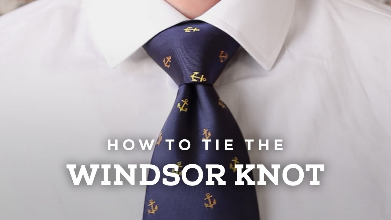 How to tie a perfect windsor knot youtube how to tie a perfect windsor knot ccuart Images