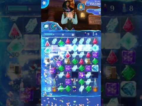 Frozen free fall endless maps wrapped figurines live play level 620