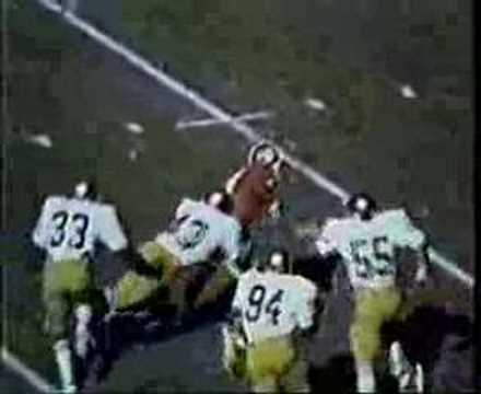 1977 Ross Browner highlights
